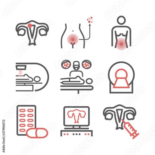 Cervical Cancer Canvas-taulu
