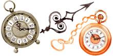 Vintage Old Clock Pocket Watch...