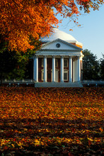 92_1760 - UVA Rotunda On An Autumn Morning