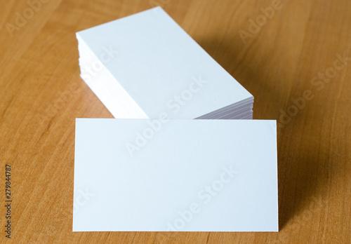 Valokuva  papier wizytówka bloczek stos firma reklama