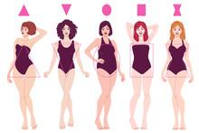 Female Body Shape Types - Pear...