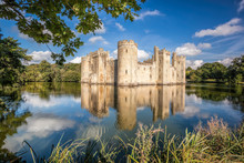 Historic Bodiam Castle In East...