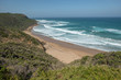 Gorgeous beach and breaking waves - Great Ocean Road, Victoria, Australia