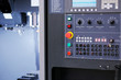 control panel of CNC vertical milling machine