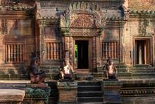 Asia,Cambodia, Siem Reap, UNESCO World Heritage,  Angkor, Banteay Srei, Hindu,temple,