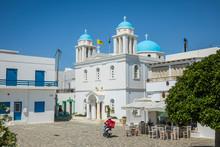 Parikia, Paros, Cyclade Islands, Greece