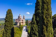 Italy, Tusany, Sanctuary San B...