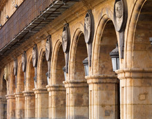 Spain, Castile And Leon, Plaza Mayor, Salamanca, UNESCO World Heritage Site