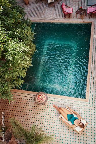 Fotografie, Obraz  Enjoying suntan