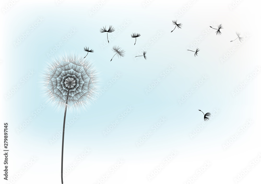 Fototapety, obrazy: Illustration of modern floral background