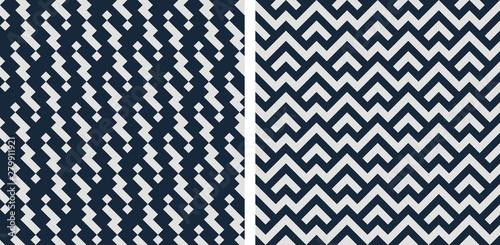 Set of seamless patterns Wallpaper Mural