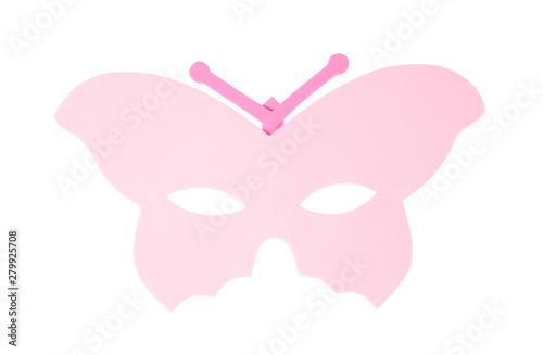 Fototapeta  butterfly carnival mask isolated on white background