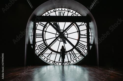 Obraz Orsay museum clock - fototapety do salonu