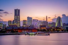Night Scene Of Yokohama Port N...