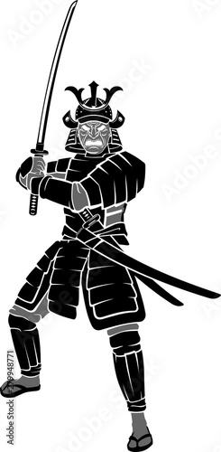 Carta da parati Samurai Warrior