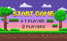Start Game Page Decoration By ...