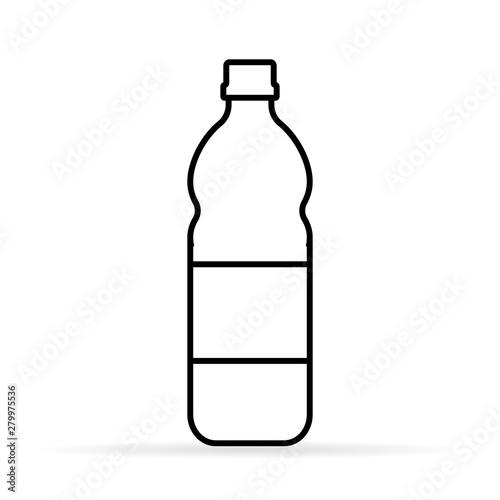 Fotografie, Obraz  plastic line icon, vector illustration