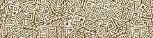 Creative Geometric Vector Seam...