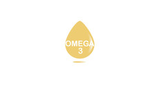 Sign Omega 3. Sign, Symbol, Design Of The Logo Of The Drawing On A White Background. Can Be Used For Eco-organic, Biological Topics. Vector Illustration