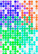 Leinwanddruck Bild - Abstract pattern background