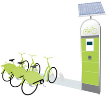 Citi Bike - Public Bicycle Sharing System Serving (docking Station Green)