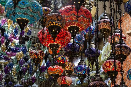 Arabic lanterns in Oman, Muscat
