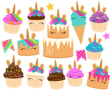 Cute Vector Collection Of Unic...