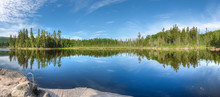 Panoramic View Of The Lake, Re...