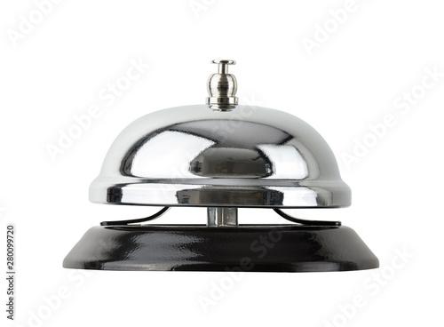 Obraz na plátně call bell isolated on white background