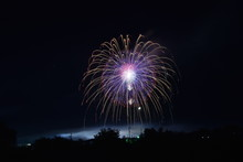 Fireworks Competition In Omagari City, Japan
