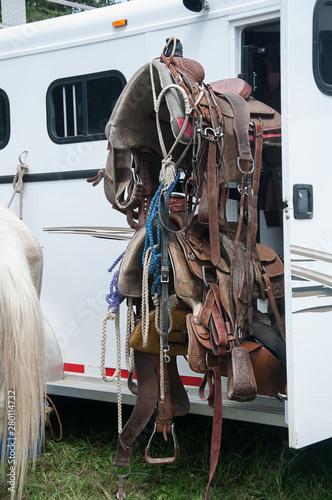 Fototapeta Horse Saddle Tack gear obraz