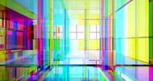 Abstract Architectural Glass G...