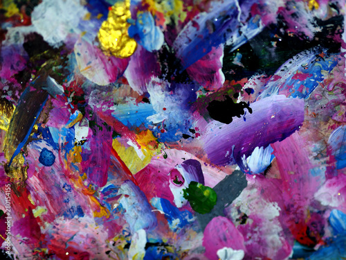 Hand draw colorful texture ...