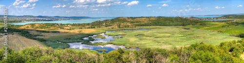 Photo Landschaft auf der Halbinsel Tihany im Plattensee, Ungarn