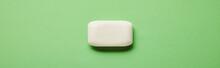 Panoramic Shot Of White Soap O...