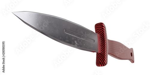 Fotografia 3d rendering boot knife