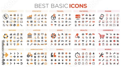 Fotografia  Basic icons