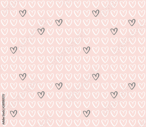 vector-heart-pattern-subtle-girly-seamless-background-with-hand-drawn-hearts-on-pink-background