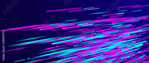 Obraz Abstract different color stripes - fototapety do salonu