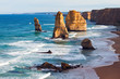 The world famous Twelve Apostles found along The Great Ocean Road in Victoria,Australia.