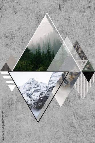 Obraz - motyw gór cz. 1 / mountain art