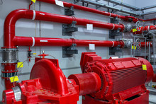 Industrial Fire Pump Station. ...