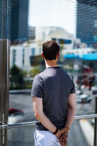 Photo  man in las vegas