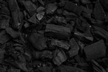 Black Charcoal Pieces Texture ...