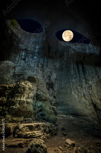 Fotografie, Tablou Prohodna cave, Bulgaria