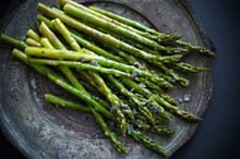 Grilled Asparagus With Black S...