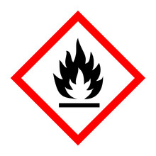 Pictogram For Flammable Substa...