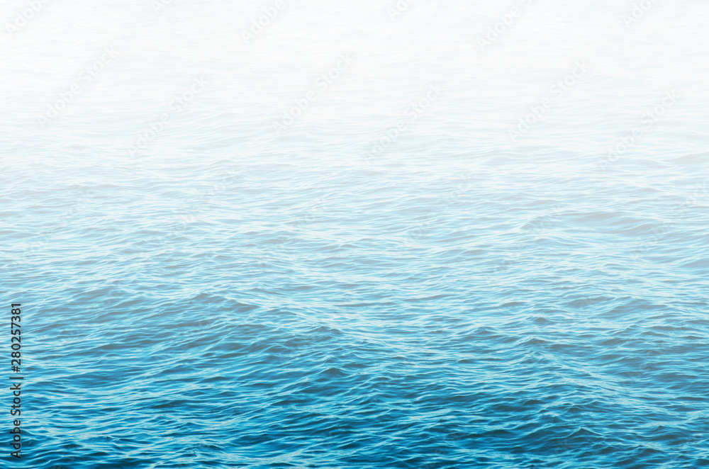 Fototapety, obrazy: Blue sea water background texture