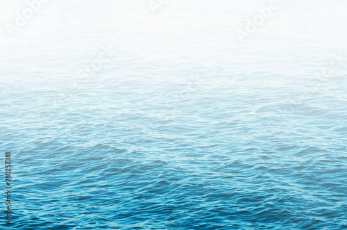 Obraz Blue sea water background texture - fototapety do salonu