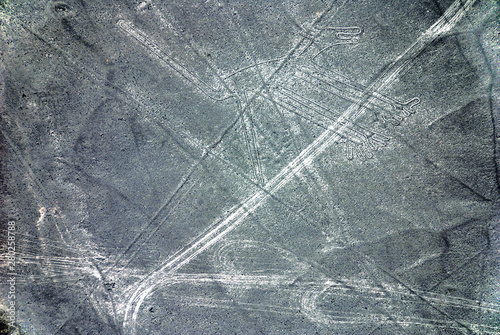 Papel de parede  Nazca Lines are a series of large ancient geoglyphs in the Nazca Desert, in southern Peru
